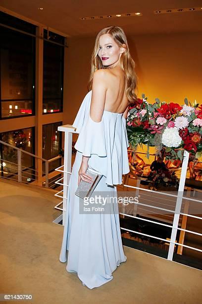 Model Charlott Cordes arrives at the 23rd Opera Gala at Deutsche Oper Berlin on November 5 2016 in Berlin Germany