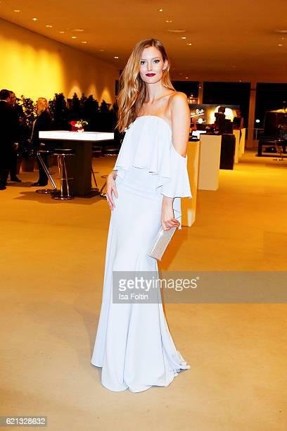 Model Charlott Cordes attends the 23rd Opera Gala at Deutsche Oper Berlin on November 5 2016 in Berlin Germany