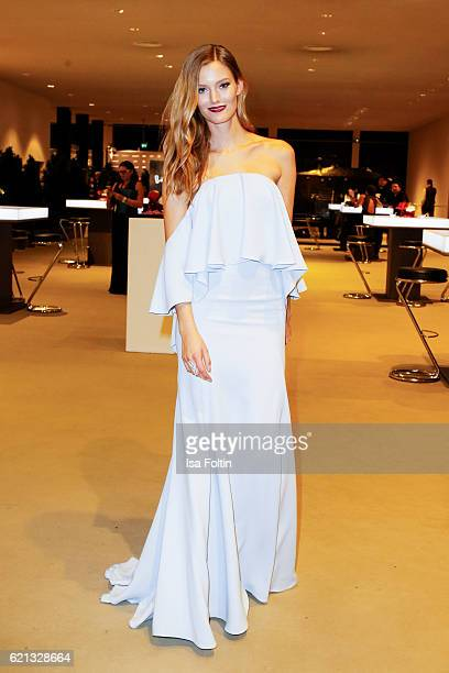 Model Charlott Cordes attends the 23rd Opera Gala at Deutsche Oper Berlin on November 5 2016 in Berlin Germany