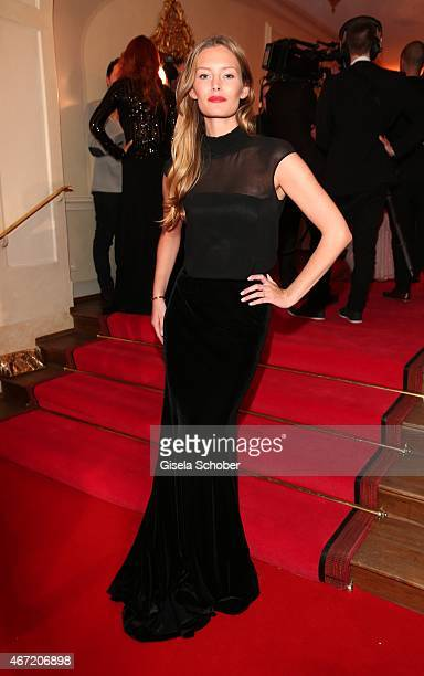 Model Charlott Cordes during the Gala Spa Awards 2015 at Brenners ParkHotel Spa on March 21 2015 in BadenBaden Germany