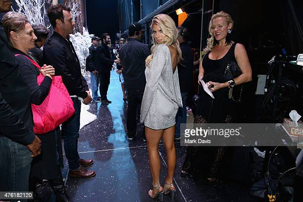 Model Charlotte McKinney attends Spike TV's Guys Choice 2015 at Sony Pictures Studios on June 6 2015 in Culver City California