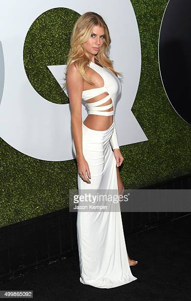 Model Charlotte McKinney attends the GQ 20th Anniversary Men Of The Year Party at Chateau Marmont on December 3 2015 in Los Angeles California