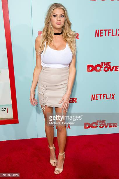 Model Charlotte McKinney attends the Premiere of Netflix's 'The Do Over' at the Regal LA Live Stadium 14 on May 16 2016 in Los Angeles California