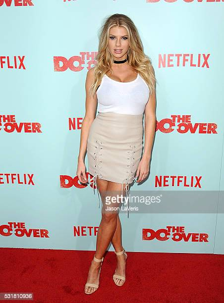 Model Charlotte McKinney attends the premiere of The Do Over at Regal LA Live Stadium 14 on May 16 2016 in Los Angeles California