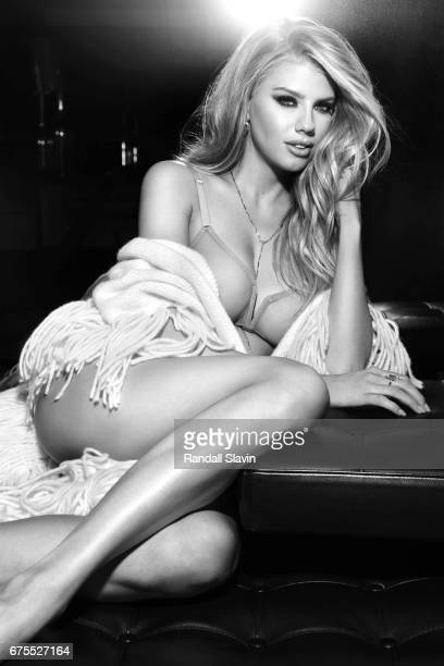 Model Charlotte McKinney is photographed for Ocean Drive Magazine on December 22 2016 in Hollywood California
