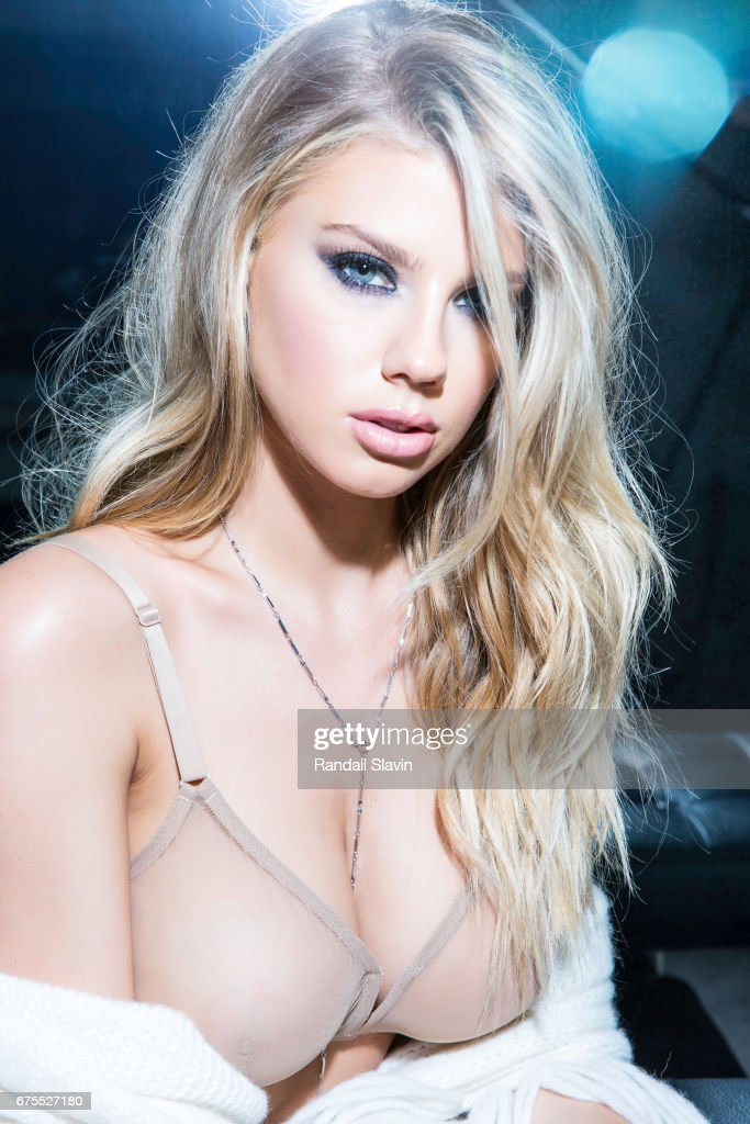 Model Charlotte McKinney is photographed for Ocean Drive Magazine on December 22, 2016 in Hollywood, California.