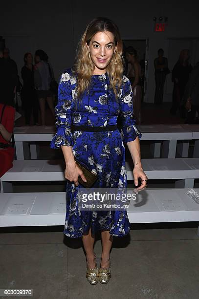 Model Chelsea Leyland attends the Prabal Gurung fashion show during New York Fashion Week The Shows September 2016 at The Gallery Skylight at...