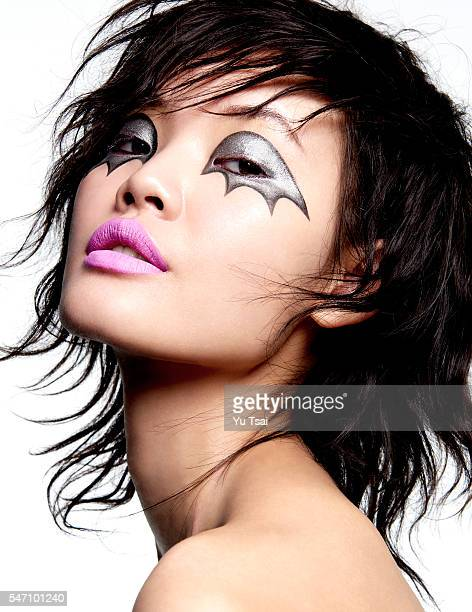 Model Chen Lin is photographed for a beauty hair and makeup story for Vogue Thailand on November 14 2015 in Los Angeles California