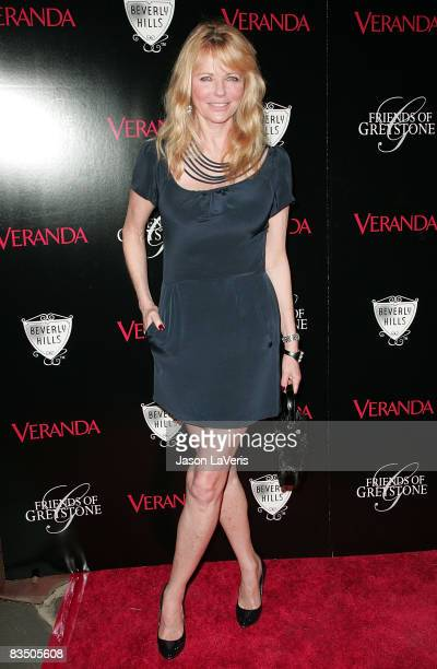 Model Cheryl Tiegs attends The Great House grand opening at the Greystone Estate on October 30 2008 in Beverly Hills California