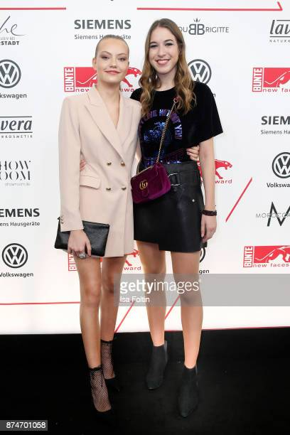 Model Cheyenne Ochsenknecht and Alana Siegel attend the New Faces Award Style 2017 at The Grand on November 15 2017 in Berlin Germany