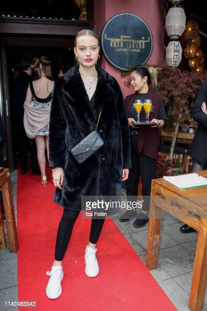 Model Cheyenne Savannah Ochsenknecht attends the Umami Opening on May 9 2019 in Berlin Germany
