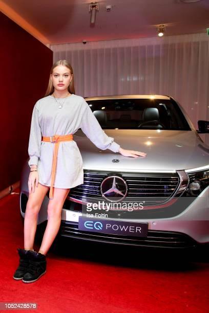 Model Cheyenne Savannah Ochsenknecht during the MercedesBenz 'Club der Jungen Wilden' event at Q Salon on October 17 2018 in Berlin Germany