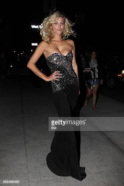 Model Cheyenne Tozzi is seen on September 9 2014 in New York City