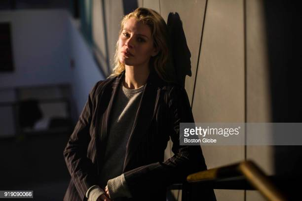 Model Chloe Hayward poses for a photo in New York Jan 24 2018 More than 50 models spoke to the Globe Spotlight Team about sexual misconduct they...