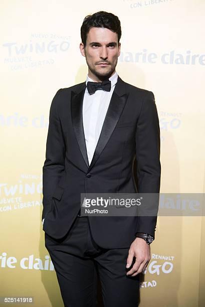 Model CHRIS ELSON attends the Marie Claire Prix de la Moda 2015 at the Callao cinema on November 19 2015 in Madrid Spain