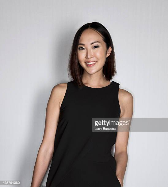 Model Chriselle Lim attends The Daily Front Row's Third Annual Fashion Media Awards at the Park Hyatt New York on September 10 2015 in New York City