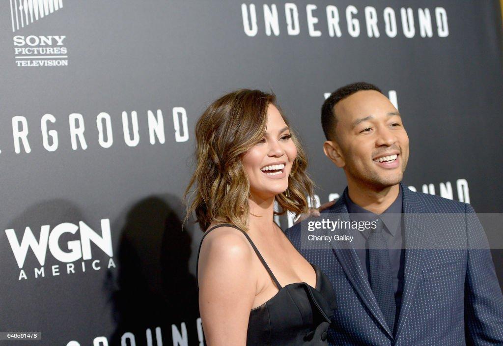 "WGN America's ""Underground"" Season Two Premiere Screening : News Photo"