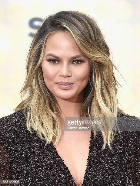 Model Chrissy Teigen attends Spike TV's 10th Annual Guys Choice Awards at Sony Pictures Studios on June 4 2016 in Culver City California
