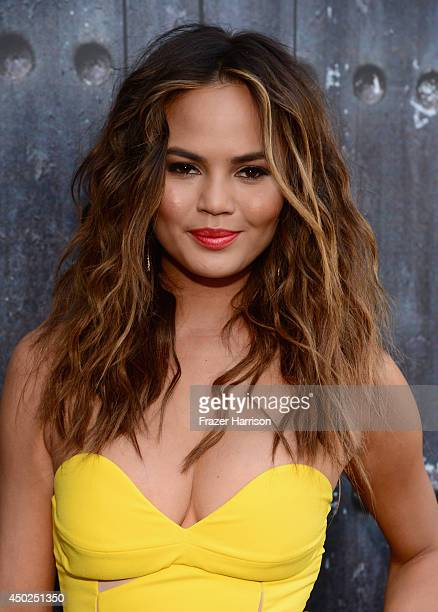 Model Chrissy Teigen attends Spike TV's 'Guys Choice 2014' at Sony Pictures Studios on June 7 2014 in Culver City California