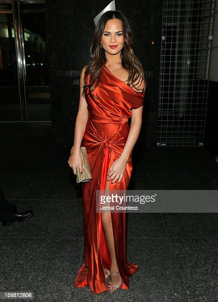 Model Chrissy Teigen attends The HipHop Inaugural Ball II at Harman Center for the Arts on January 20 2013 in Washington DC