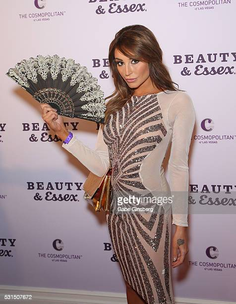 Model Christiana Cinn Attends The Grand Opening Of Beauty Essex At The Cosmopolitan Of Las Vegas