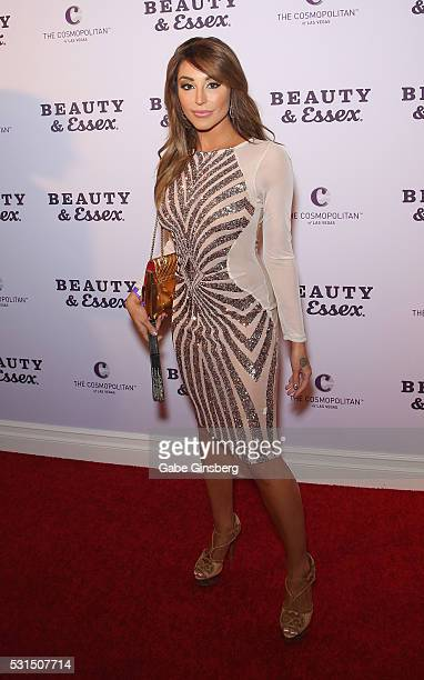 Model Christiana Cinn attends the grand opening of Beauty Essex at The Cosmopolitan of Las Vegas on May 14 2016 in Las Vegas Nevada