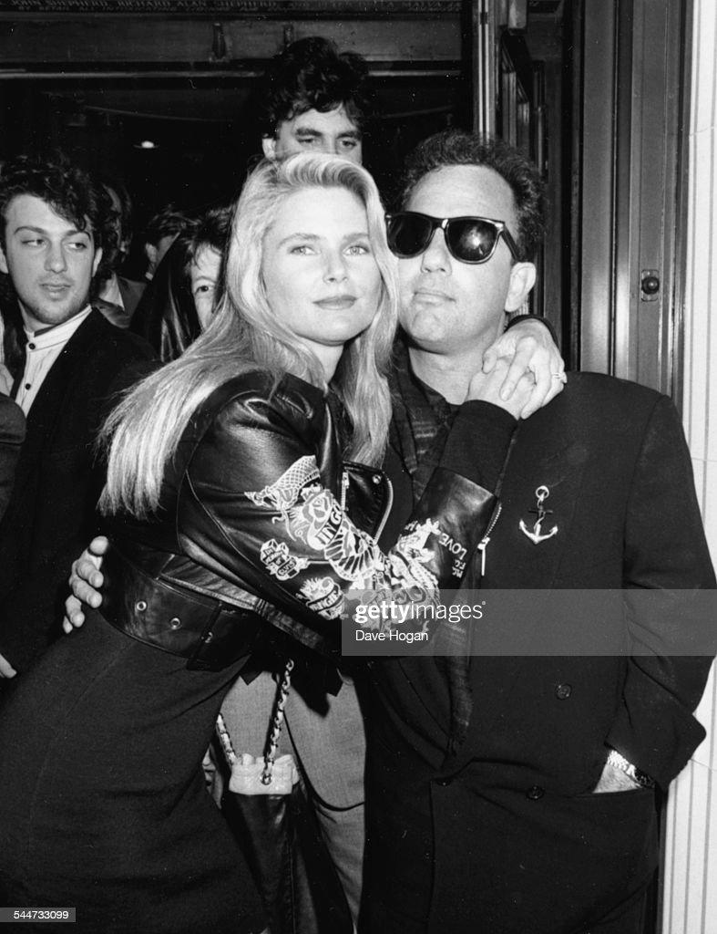 Christie Brinkley And Billy Joel : News Photo