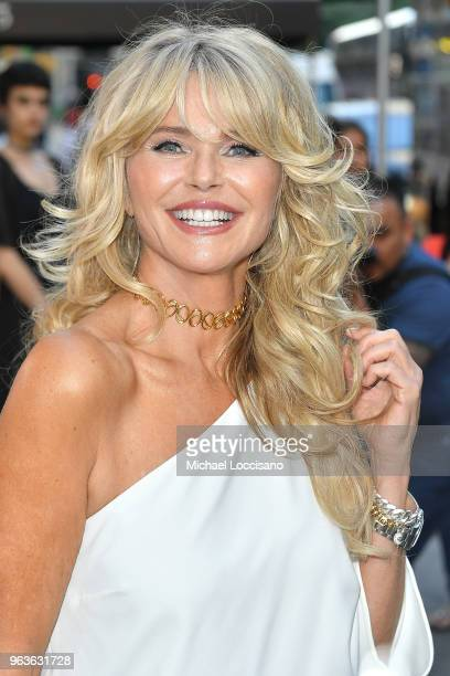 Model Christie Brinkley attends Bella New York magazine's beauty cover launch at La Pulperia Restaurant on May 29 2018 in New York City