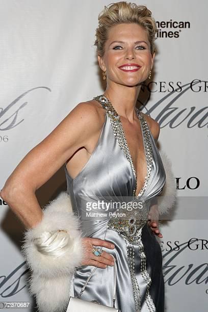 Model Christie Brinkley attends the 2006 Princess Grace FoundationUSA Awards Gala at Cipriani 42nd Street November 2 2006 in New York City
