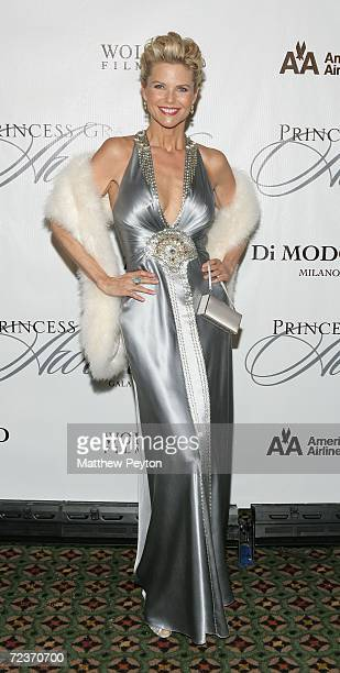 Model Christie Brinkley attends the 2006 Princess Grace FoundationUSA Awards Gala at Cipriani 42nd Street November 2 2006 in New York City
