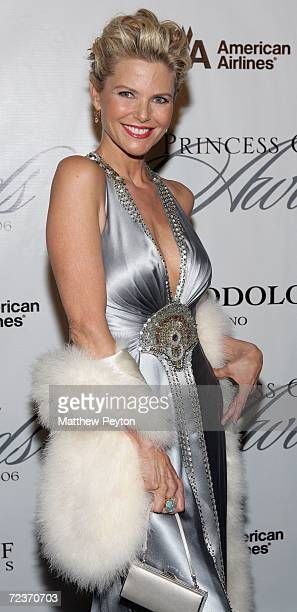 Model Christie Brinkley attends the 2006 Princess Grace Foundation-USA Awards Gala at Cipriani 42nd Street November 2, 2006 in New York City.