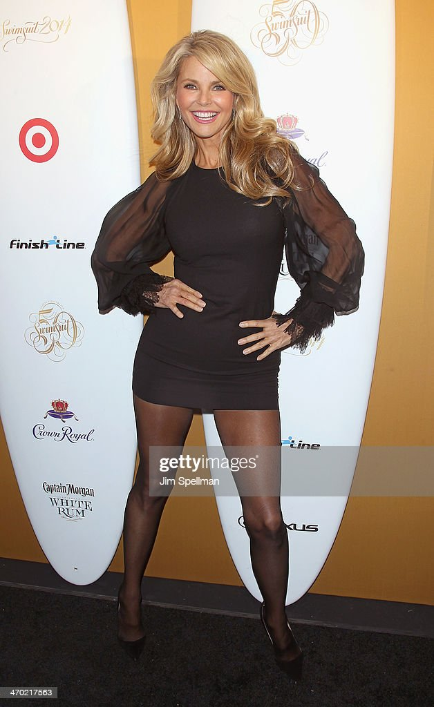 Christie Brinkley Commercial >> Model Christie Brinkley attends the Sports Illustrated ...