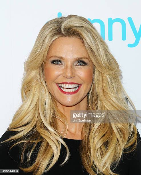 Model Christie Brinkley attends the USA Network hosts the premiere of Donny at The Rainbow Room on November 3 2015 in New York City
