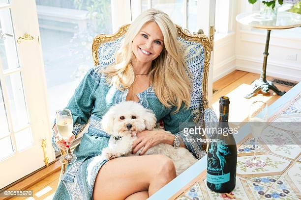 Model Christie Brinkley is photographed for Us Weekly on August 25 2016 at home in Sag Harbor New York COVER IMAGE