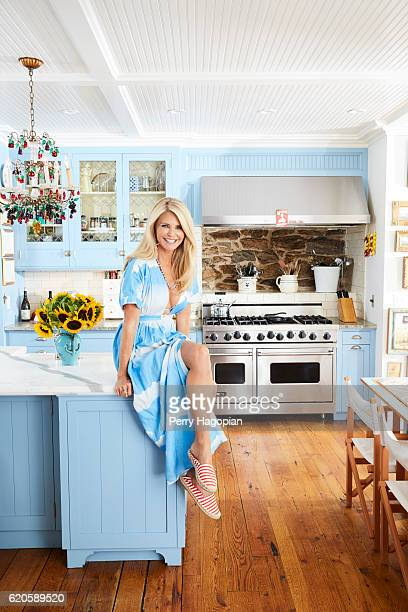 Model Christie Brinkley is photographed for Us Weekly on August 25 2016 at home in Sag Harbor New York PUBLISHED IMAGE