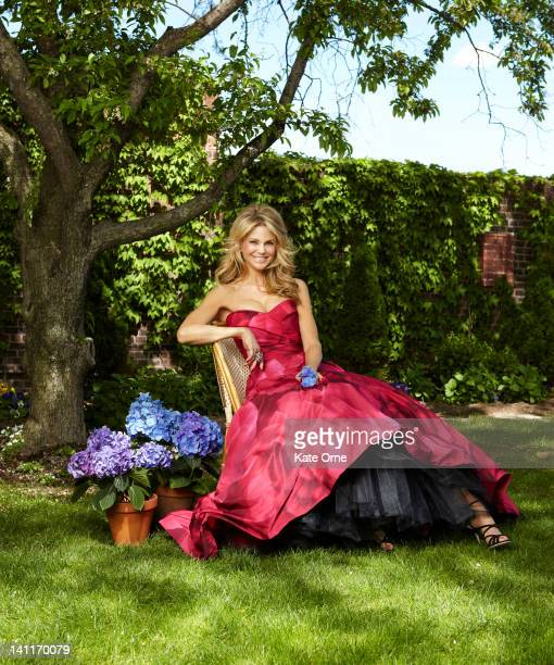 Model Christie Brinkley photographed for the June 2010 Hamptons Magazine on in New York City