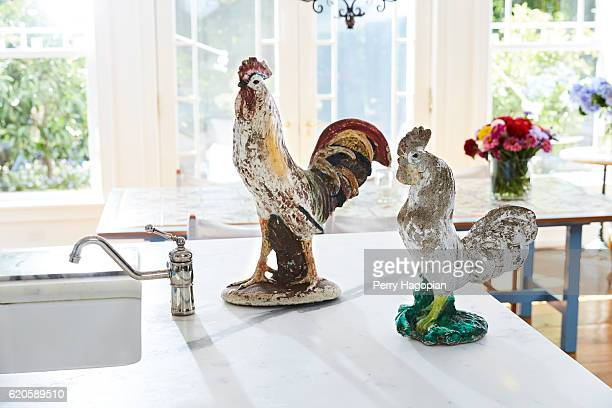 Model Christie Brinkley's kitchen is photographed for Us Weekly on August 25 2016 in Sag Harbor New York PUBLISHED IMAGE