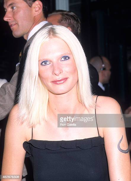 Model Christina Kruse attends the Marc by Marc Jacobs Men's Grand Opening Celebration on September 18 2000 at Marc by Marc Jacobs Men's 403 Bleecker...