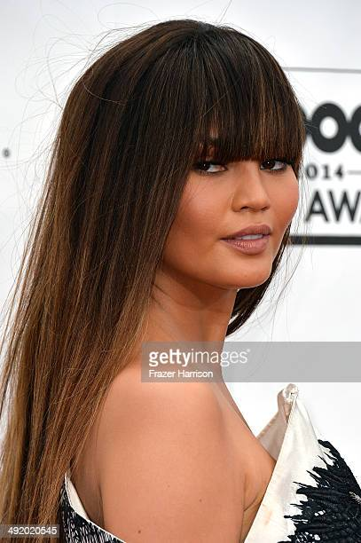 Model Christine Teigen attends the 2014 Billboard Music Awards at the MGM Grand Garden Arena on May 18 2014 in Las Vegas Nevada