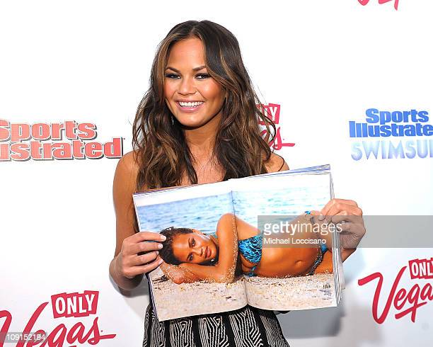 Model Christine Teigen attends the SI Swimsuit Launch Party hosted By Pranna at Pranna Restaurant on February 15 2011 in New York City