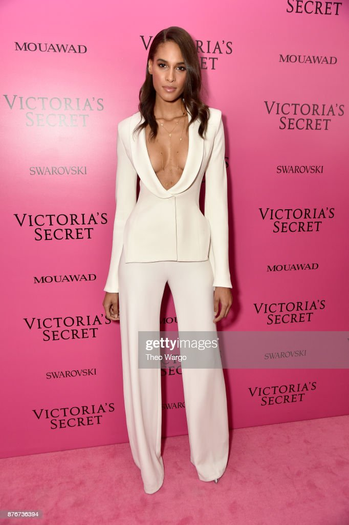 Model Cindy Bruna attends the 2017 Victoria's Secret Fashion Show In Shanghai After Party at Mercedes-Benz Arena on November 20, 2017 in Shanghai, China.