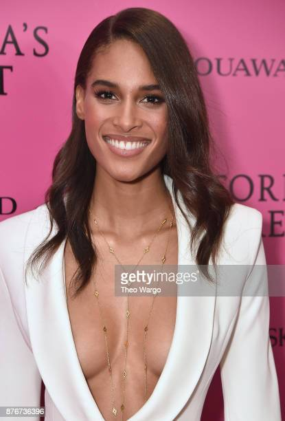 Model Cindy Bruna attends the 2017 Victoria's Secret Fashion Show In Shanghai After Party at MercedesBenz Arena on November 20 2017 in Shanghai China