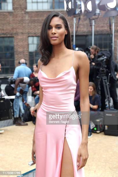 Model Cindy Bruna attends the Jonathan Simkhai front row during New York Fashion Week The Shows on September 09 2019 in New York City