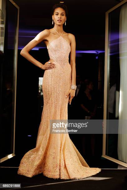 Model Cindy Bruna is photographed on May 24 2017 in Cannes France