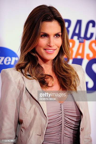 Model Cindy Crawford arrives for the 18th Annual Race to Erase MS celebrity gala April 29 2011 in Los Angeles The event benefits research to find a...