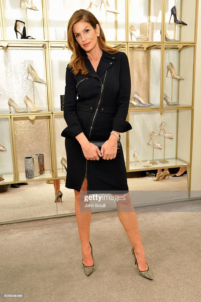 An Evening To Support DKMS Hosted By Jimmy Choo And Cindy Crawford