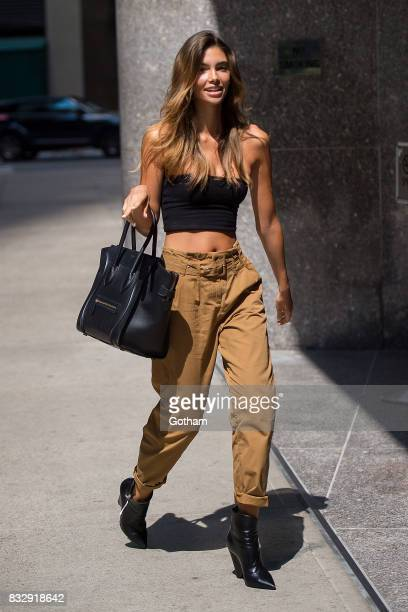 Model Cindy Mello attends casting for the 2017 Victoria's Secret Fashion Show in Midtown on August 16 2017 in New York City