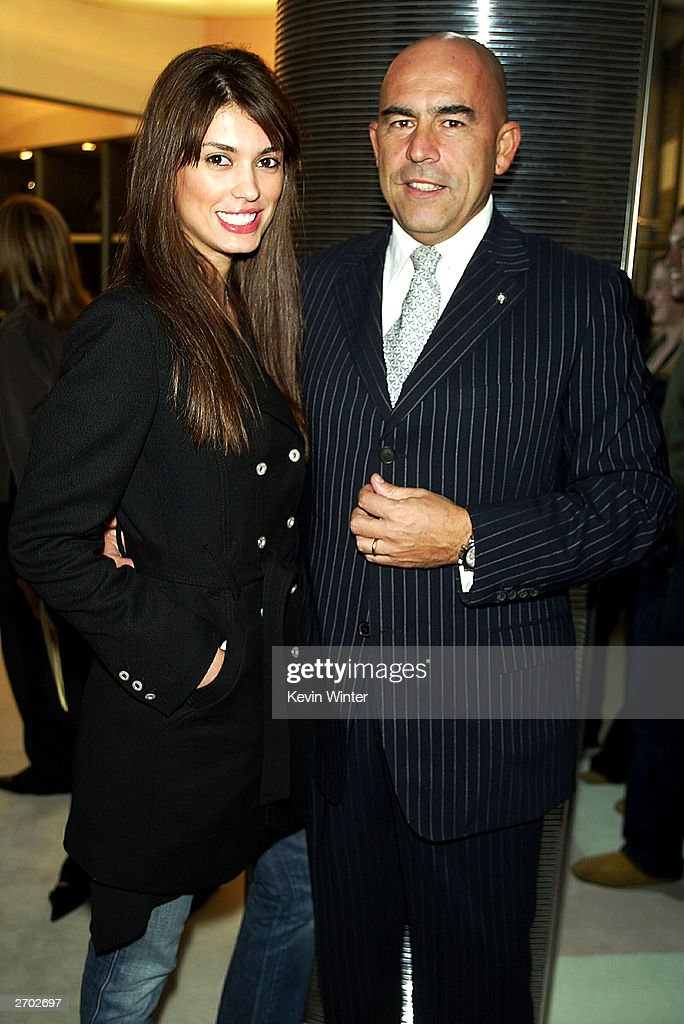 Cinthia Moura and Enrico Mambelli : News Photo