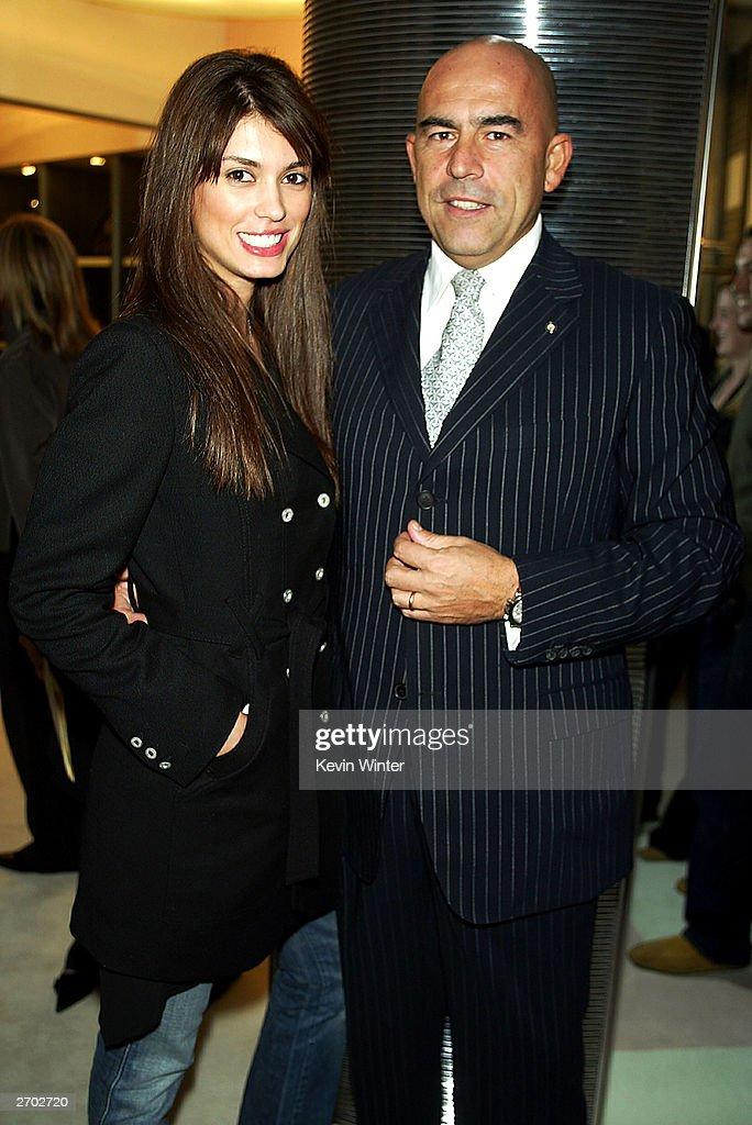 Cinthia Moura and Enrico Mambelli : News Photo