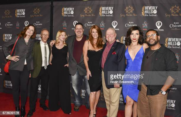 'Model Citizen' cast and crew Diane Salinger Bob Bancroft Traci Lords Matt Berman Angie Everhart Conrad Bachman Leigh Rachel Faith and Kelly Perine...
